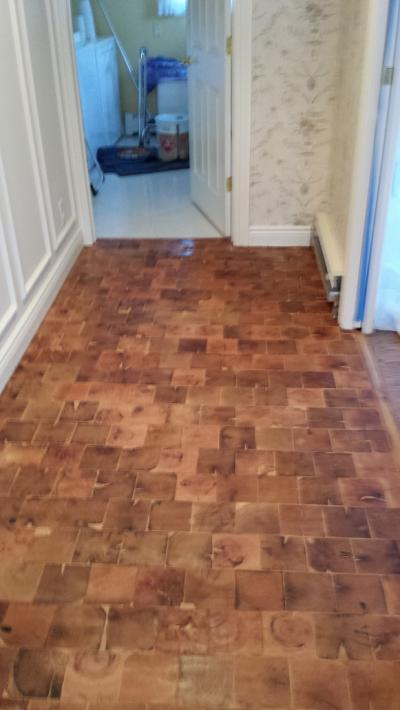End Grain Wood Tiles Wood Floor Tiles Reclaimed Cobble
